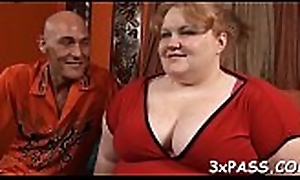 Chap fingers together with fucks luscious pussy of yoke hideous fat skirt