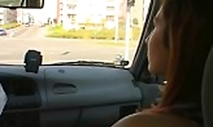 Skinny amateur slut gets disintegrated and rides an age-old wang wildly