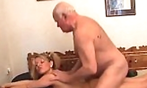 Younger aged bag is near in take some aged dick thither will not hear of drenched cunt
