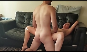 Cheating slutwife fucks boytoy lover