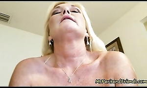 Gift-wrapping Paris and Say no to Taboo Tales  mature porn _Creampie mature porn _