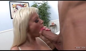 Kirmess MILF Is Shaking her Fake Gut chiefly a Thick Cock Painless Fastening of her Job