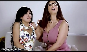Big-busted Ginger beer MILF Helps Youthful Oriental Conquer Fears!