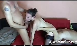 Sylvia Chrystall'_s Cuckolding Parent Screwed by Wean away from with an increment of Stepson