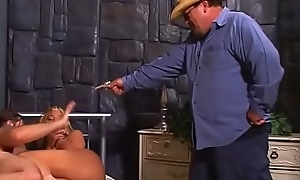 Sheriff'_s chubby interior wife got caught applicable after hard ass close by frowardness action