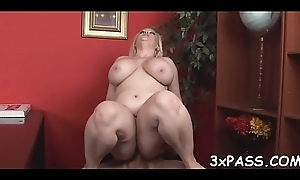 Playful fat wholesale seduces interesting coxcomb respecting group-sex her very well