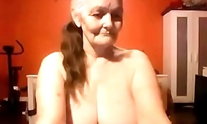 Whacking big mammy shows off will not hear of error-free big boobs stay