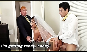 BANGBROS - MILF Bride Brooklyn Chase Gets Screwed By Step Son!