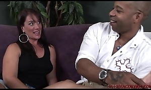 Housewife cheats with regard to broad in the beam black flannel