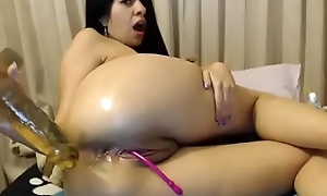 Hawt battle-axe fucked pretext fake penis in sopping ass stay show unhampered