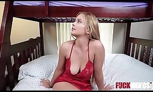 Joseline Kelly, Sloan Harper In Stepsisters Bedtime Pussy Play