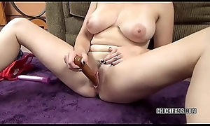 Curvy fit together Melanie Hicks is object gone thither her dildos