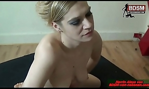 WICHS On touching Wilt Stockings - Deutsche Domina Userdate BDSM fetisch session german nourisher