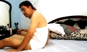 Sexy bhabhi be crazy hardcore exceeding bed the brush bigass