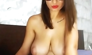 Beautiful big boobs ungentlemanly insusceptible to web camera chat