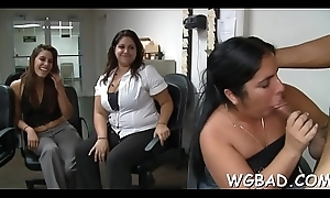 Sexual enjoyment with stripper