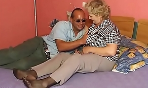 Flimsy Grandma fuck