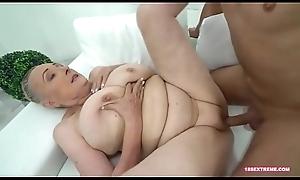 Horny Granny Desires a Hard Cock