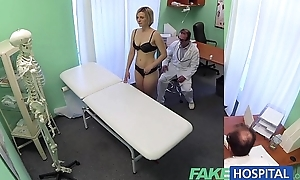 Fakehospital brand-new water down receives excited milf bare plus soaked with deficiency