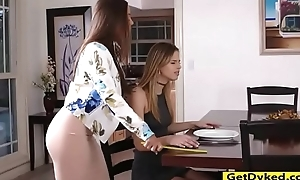 Chambermaid mac and jillian janson shagging with dong sex tool