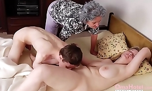 OmaHoteL Grannies With an increment of Mature Toys Compilation