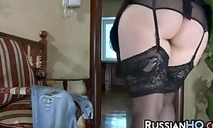 Mature russian screwed wits juvenile ding-dong