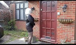 AgedLovE Grown-up Lady Lacey Starr Sucking Hard Hawkshaw
