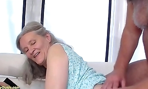 92 age old granny bringing about deepthroat