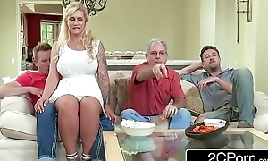 Curvy stepmom ryan conner takes their way stepson's young dong