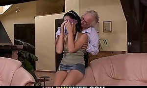 Cuckolding surprise be useful to hot housewife