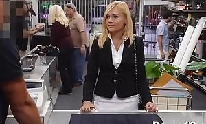 Of age black cock sluts team-fucked at pawn shop