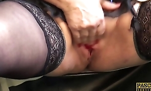 PASCALSSUBSLUTS - Jammed granny Carol acquires rough anal sex