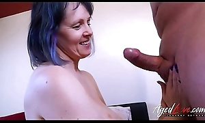 AgedLovE Horny Mature Tigger Hardcore Going to bed