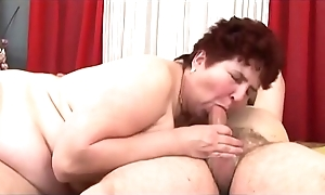 Go to meet one's Maker fette Oma mit behaarter Vagina lid Copulation mit Fremden