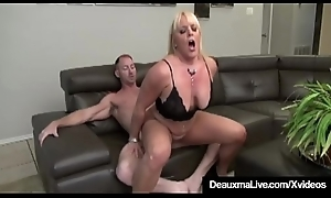 Matured Lesbians Deauxma &_ Alexis Golden Roger In BBC 4some!