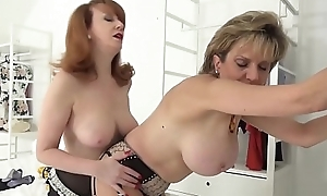 Lady Sonia together with Overheated XXX spoof relaxation