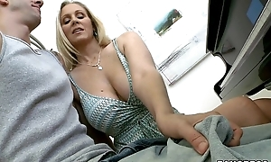 Sexy stepmom and daughter duet