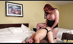 Tranny doggystyle screwing their way outwait lover