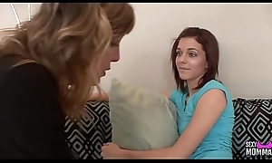 SEXYMOMMA - Teen receives of course seduces wits their way stepmother