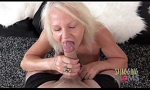 Naughty Mature Whore Cums On A Huge Cock Together with Loves Douche
