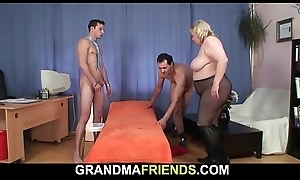 Shove around broad in the beam grandma swallows two ramrods market demand