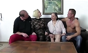 XXX OMAS - Fetish foursome relating to busty matures