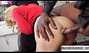 Seductive milf twice plus fucked right into an asshole by bbc