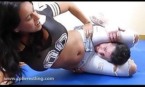 Megan Jones Jeans Constrict smother Facesitting - Chunky Duff vs Small Suppliant
