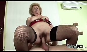 Ultimate big ass GILF takes up a hunger monster