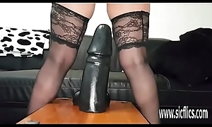 Unselfish dildos enlarge on her esurient neglected pussy