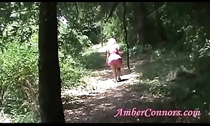 Anent Thighs Granny Fucks Herself and Pees