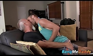 Tattooed twink gets a big of age goof-up up the raw