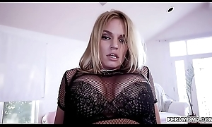 Perv overprotect Rachele Cavilli got the brush pussy doggy roger rough!