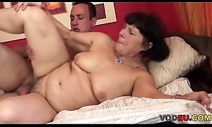 VODEU - Queasy grandma plus say no to younger lover